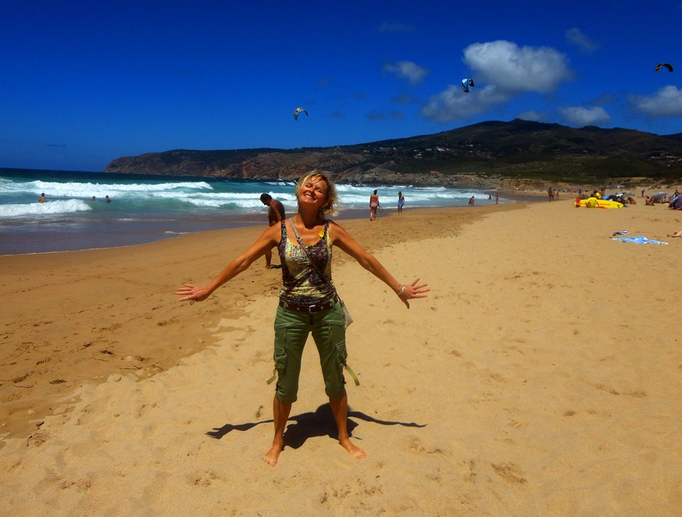 Пляж Гиньшу. Португалия