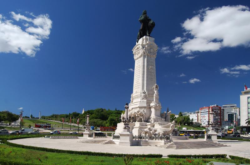 Лиссабон, памятник Помбалу - обязательная остановка