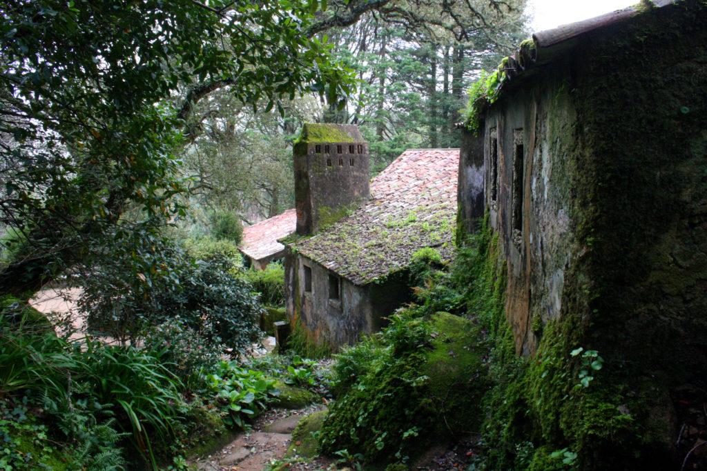 Монастырь Капуцинов в Португалии, город Синтра