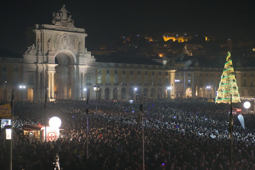 Новогодняя ночь в Лиссабоне
