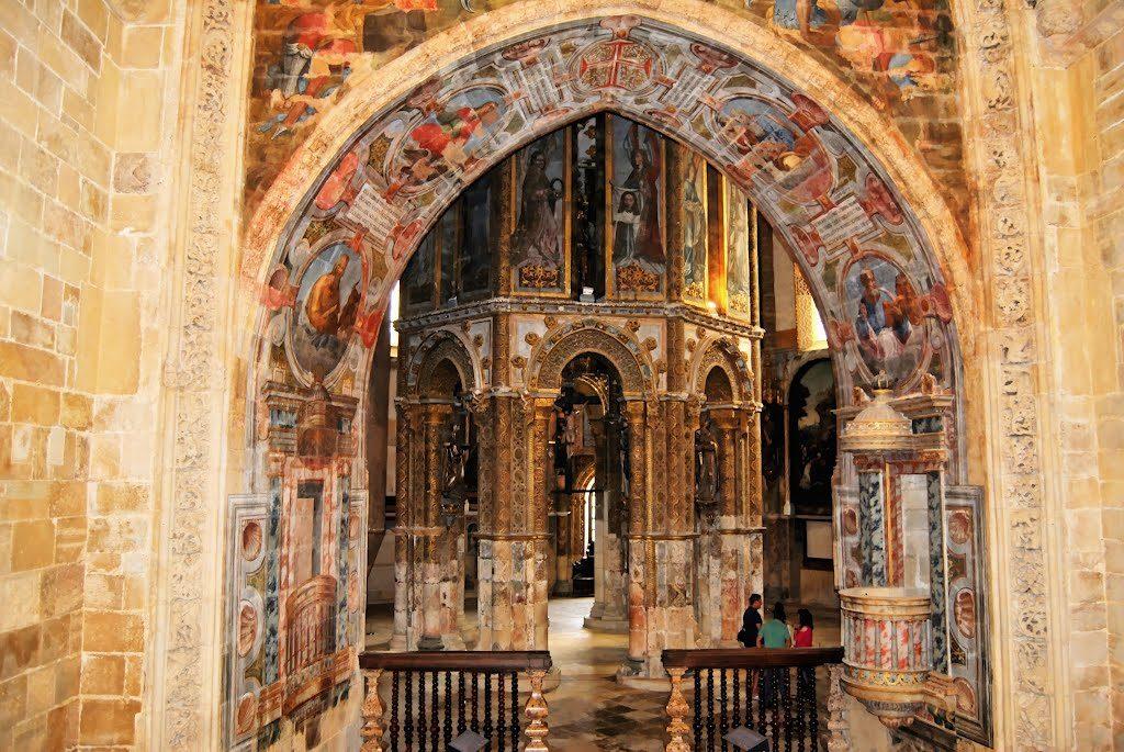 Церковь в крепости ордена Христа в Томаре