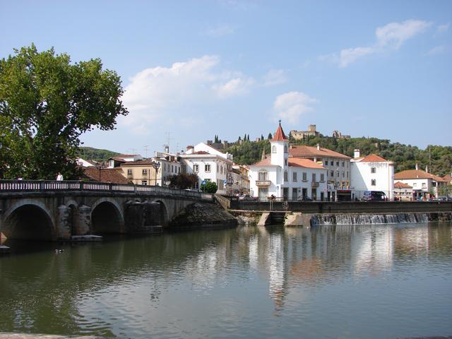 Город и крепость Томар в Португалии