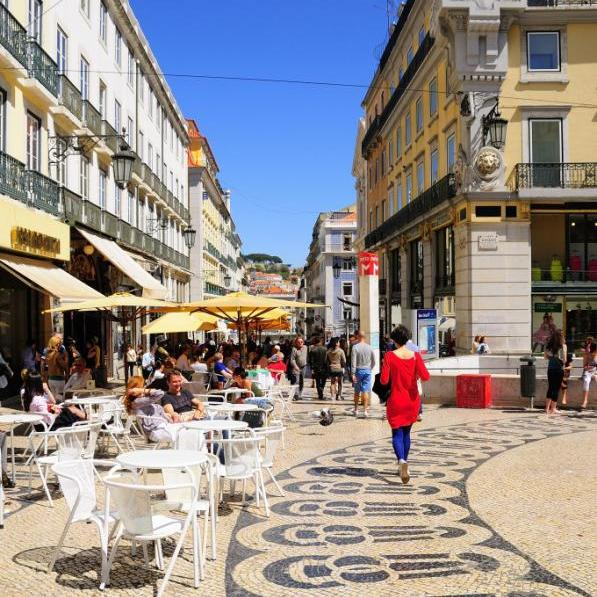 Квартал Шиаду в Лиссабоне