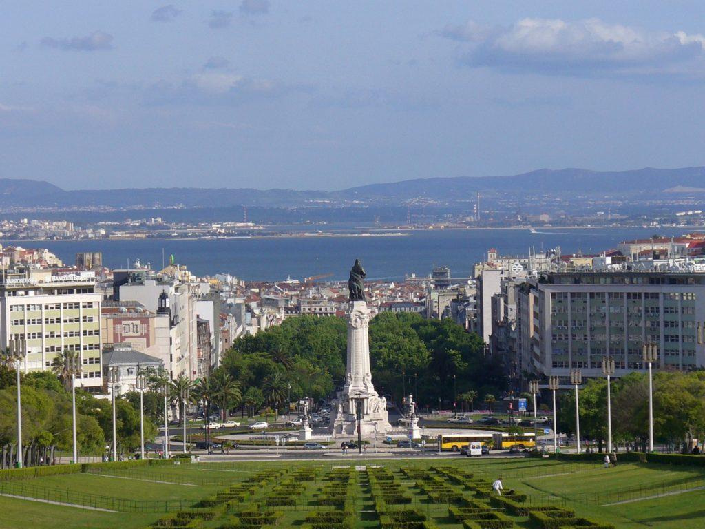 Лиссабон, памятник Маркизу Помбалу