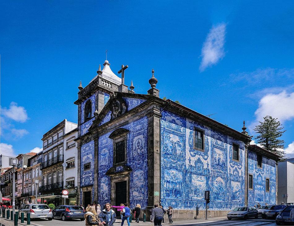 Португалия, Часовня душ в городе Порту