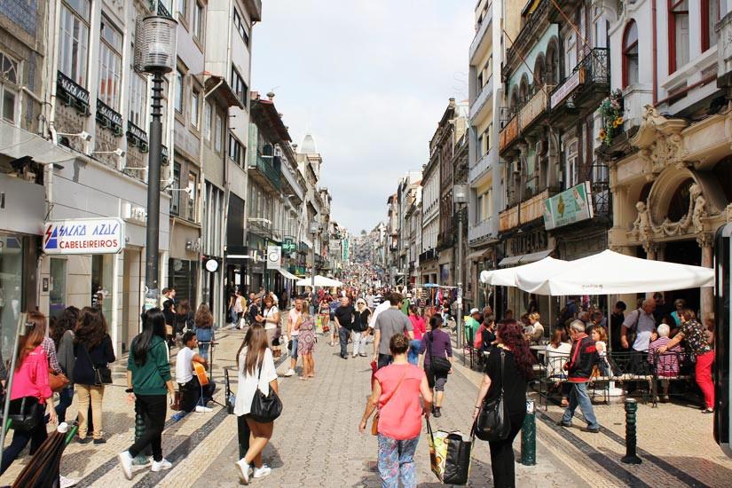Португалия, город Порту, улица Святой Катарены