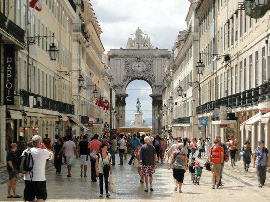 Лиссабон, Триумфальная Арка