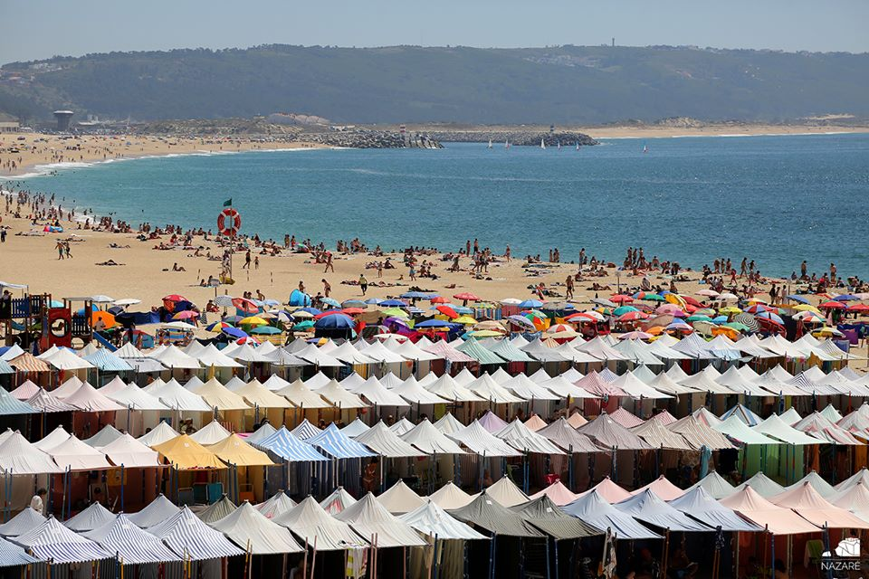 Португалия, пляжи Назаре