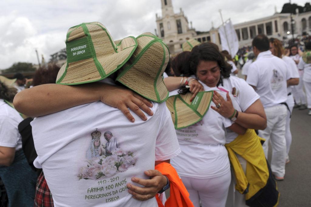 Паломники в Фатиме в 2017 году