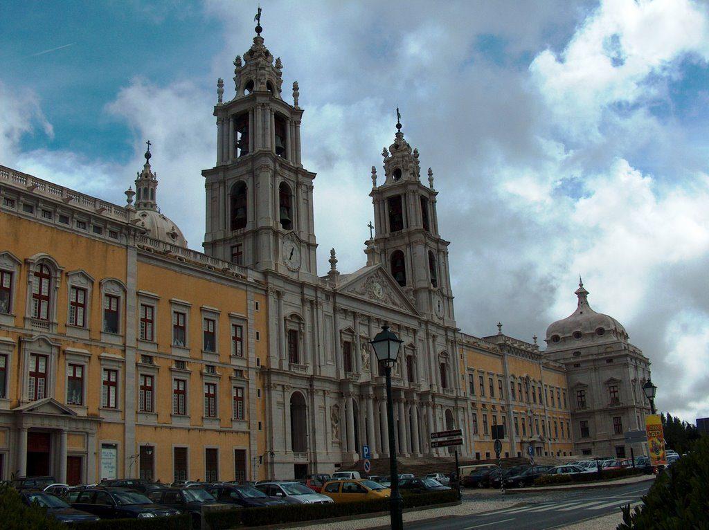 Португалия, дворцово-монастырский комплекс Мафра