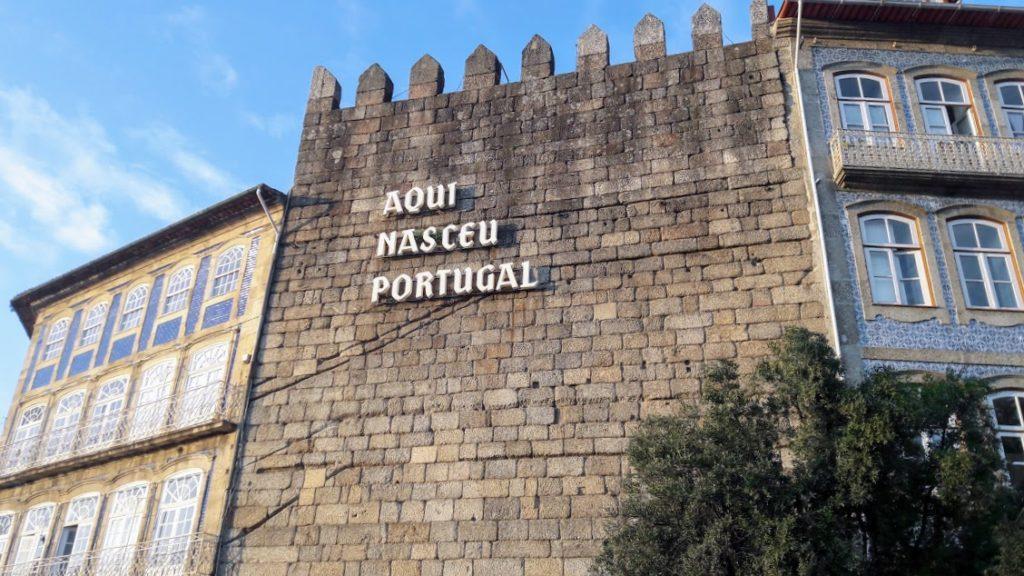 Город Гимарайнш, Португалия