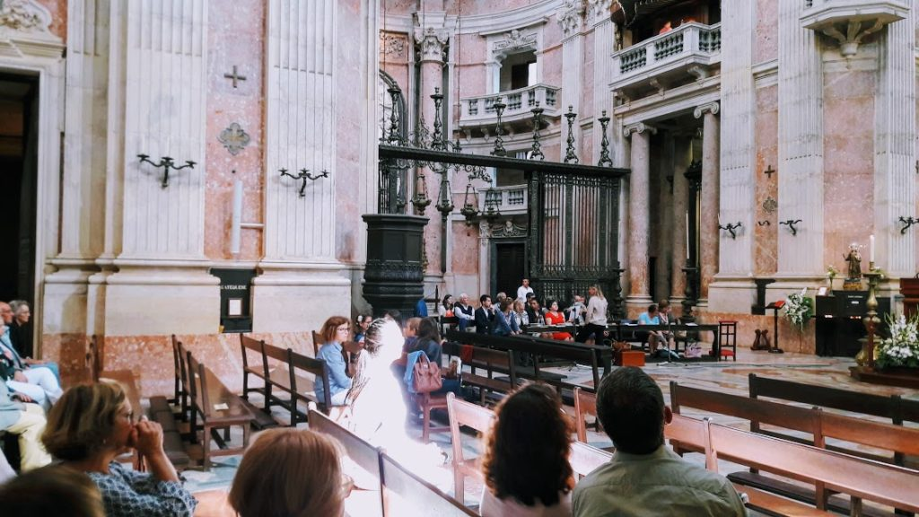 Церковь в городе Мафра, Португалия