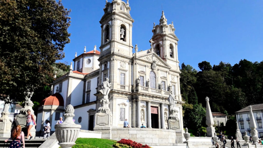 Португалия, церковь в 5 км от Браги